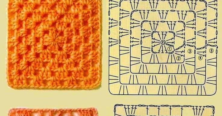 World crochet: Motive 5
