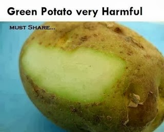 Why You Should Avoid Green Potatoes?