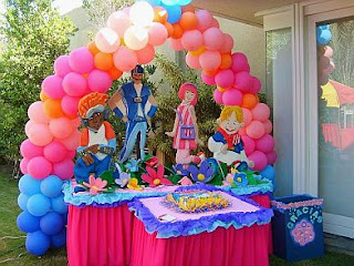 MyTotalNet.com: Children Parties, Lazy Town Decoration
