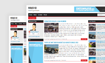 Download Woles v2 Blogger Template - Mas Sugeng