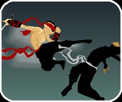 Ninja trốn thoát, game hanh dong