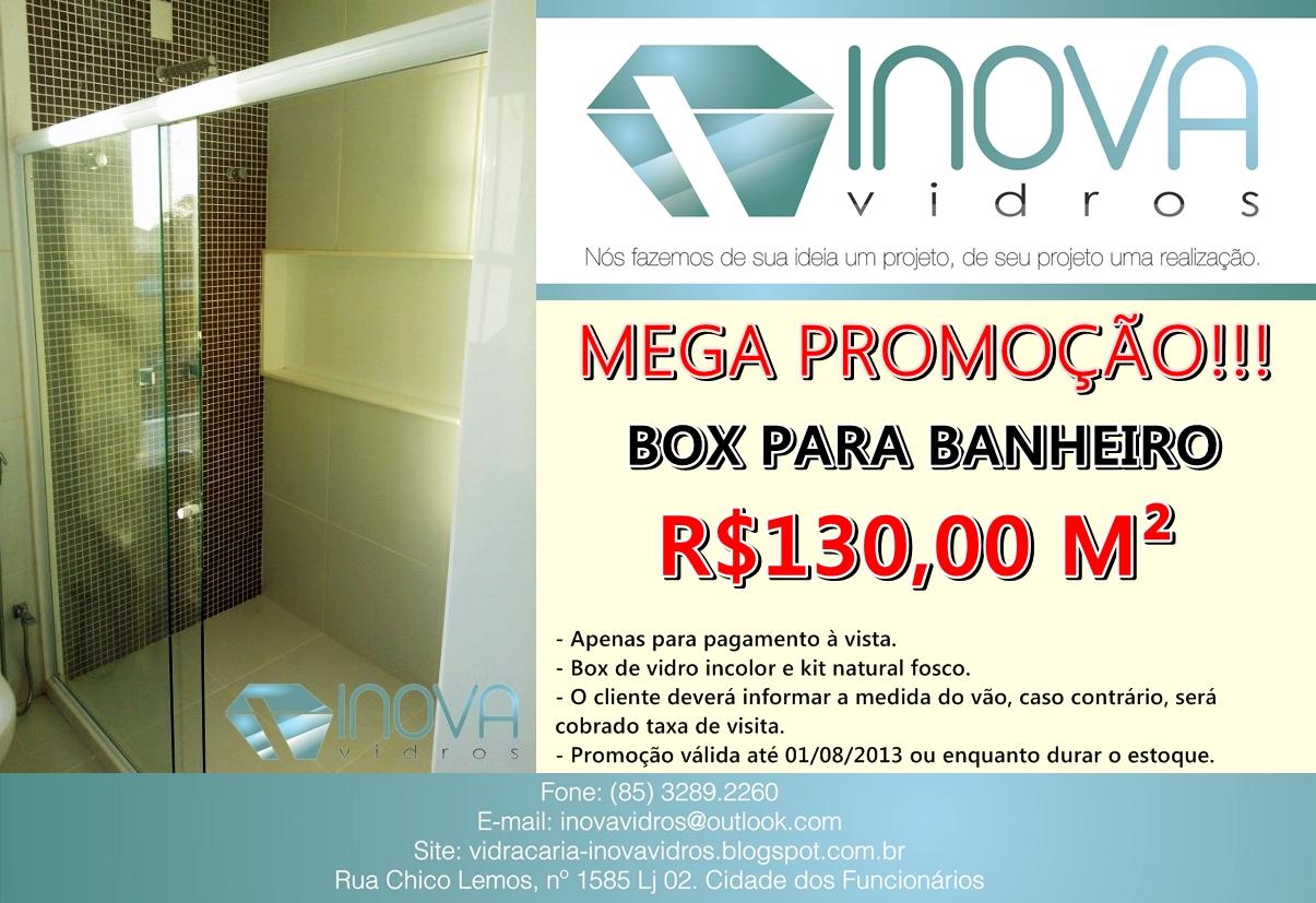 Inova Vidros: PROMOÇÃO IMPERDÍVEL BOX PARA BANHEIRO!!! #C50606 1205x827 Banheiro Container Fortaleza