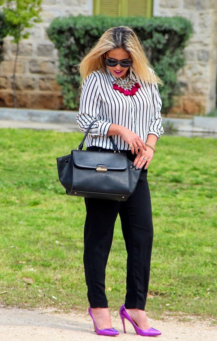 בלוג אופנה Vered'Style - חולצת הפסים האולטימטיבית