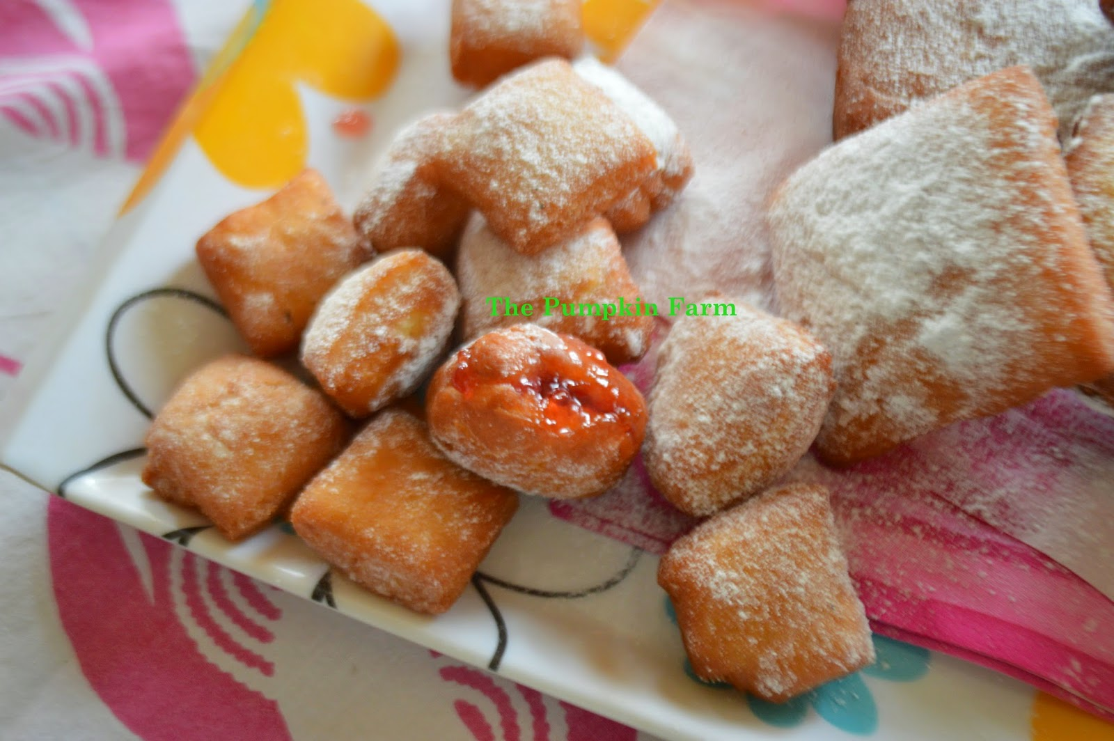 Celebrating food usa street food menu american street food special and to go along with it i made beignets in both standard and miniature size for recipe click here forumfinder Images