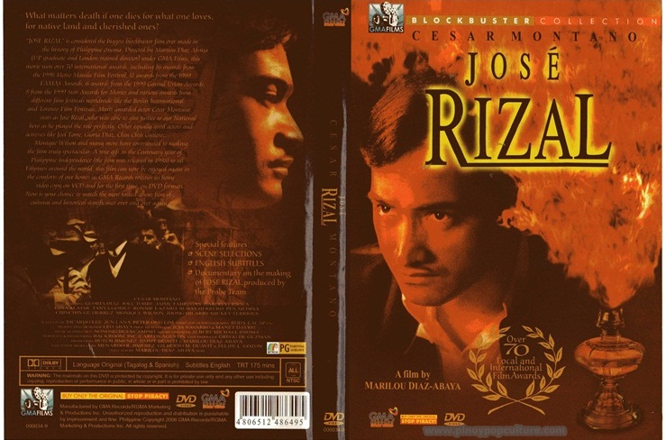 essay about jose rizal the movie