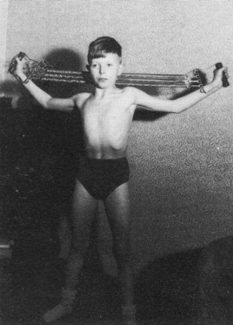 David Bowie criança