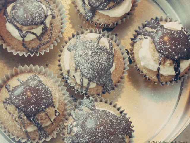 espresso cupcakes recipe | Halal Home Cooking