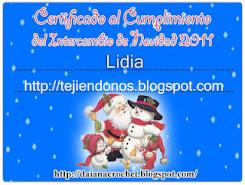 Certificado Inter Daiana 2011