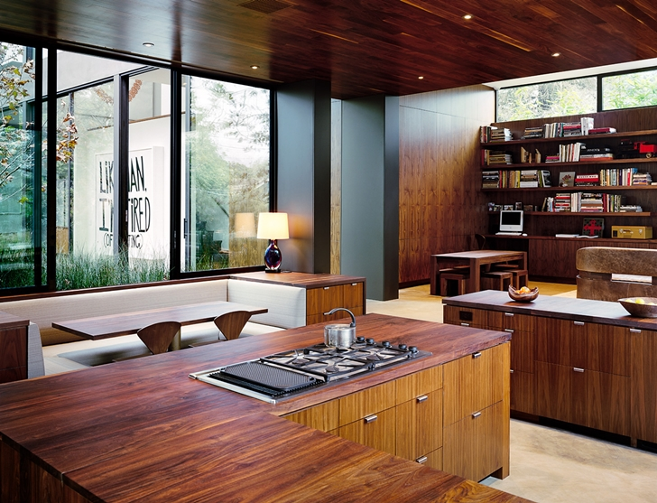 Kitchen in Vienna Way Home by Marmol Radziner