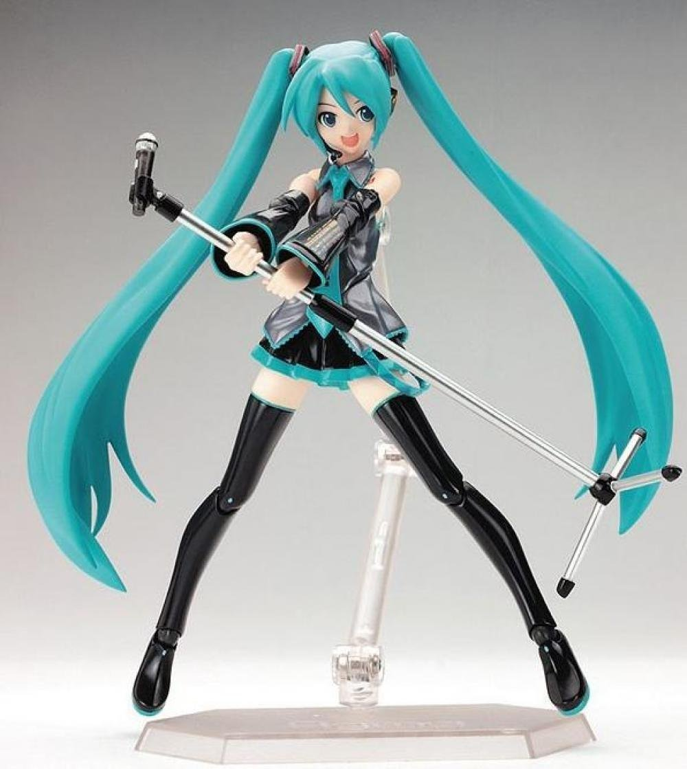 Japan Anime Hatsune Miku Figure Figma 014 PVC Action Figure Collectible Brinquedos Kids Toys Juguet