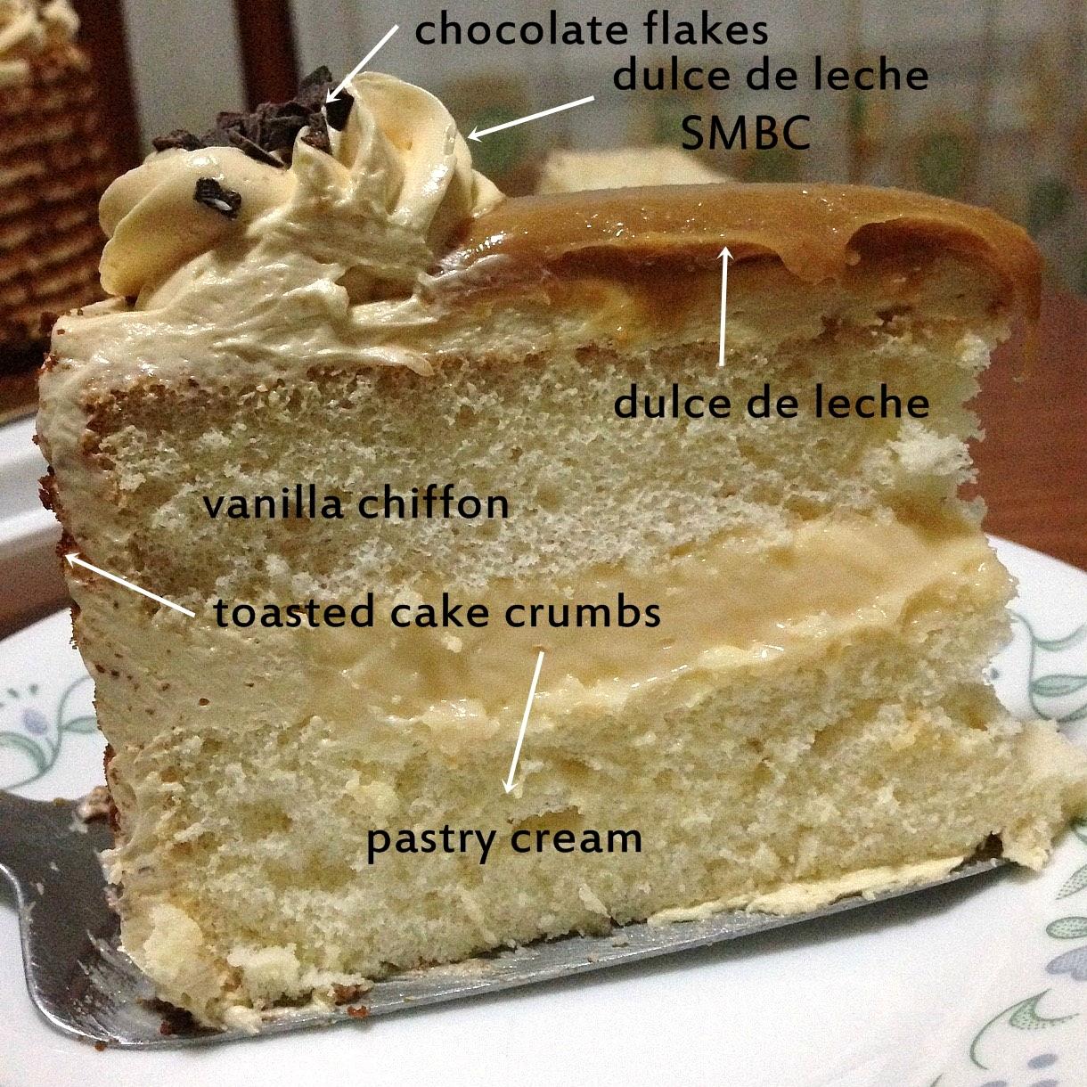 dulce de leche cake filling recipe