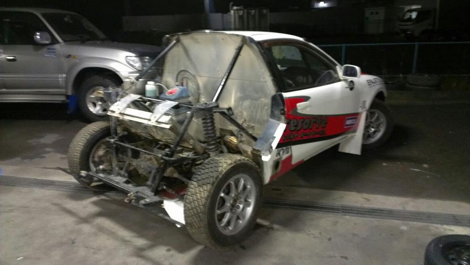 Dirt Trial Mitsubishi Mirage, Colt, CJ0, ciekawe projekty sportowych samochodów, auta do rajdów
