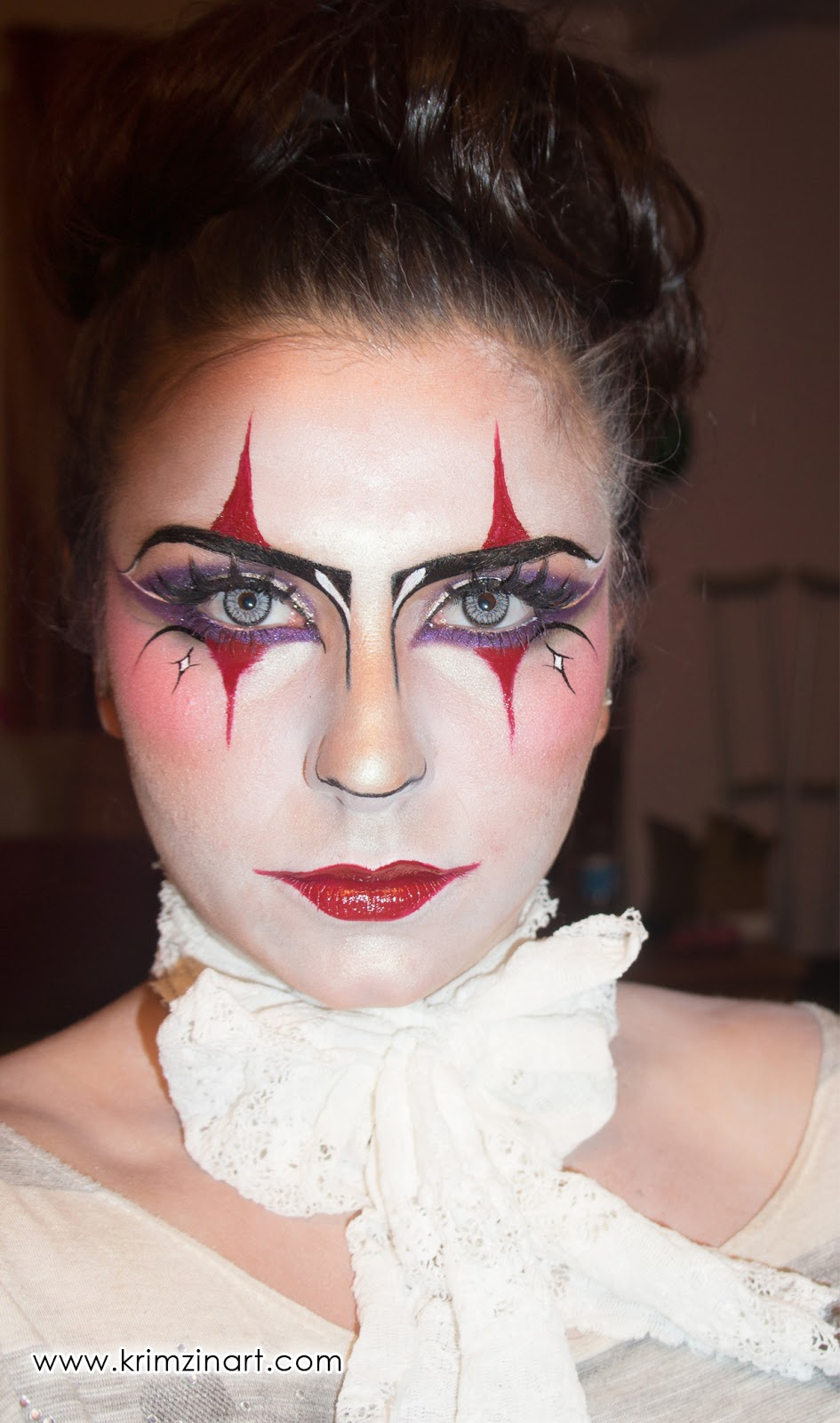Krimzin Art Wicked Harlequin