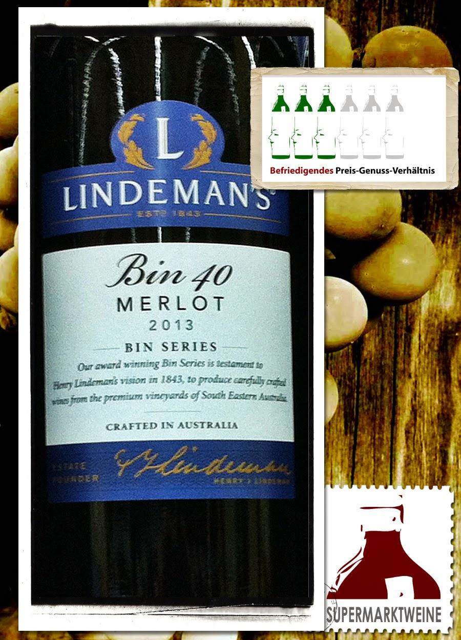 Lindeman's Bin 40 Merlot 2013 | Test und Bewertung