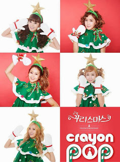 crayon pop christmas