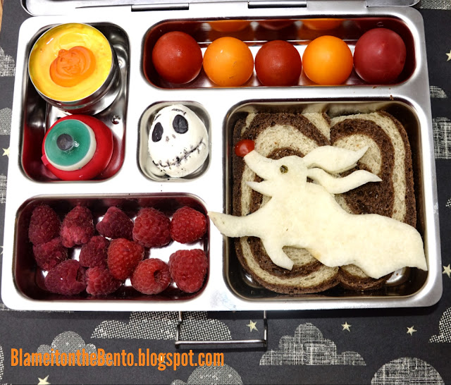 Nightmare before christmas Zero the Ghost dog bento