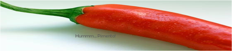 Hummm... Pimenta!