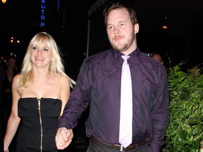 Anna Faris With Boyfri...