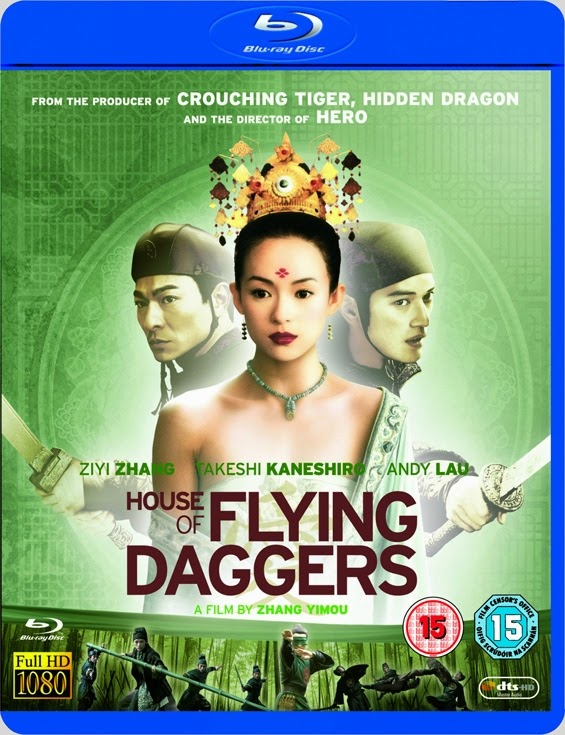 House of Flying Daggers 2004 Dual Audio Hindi Eng BRRip 300mb