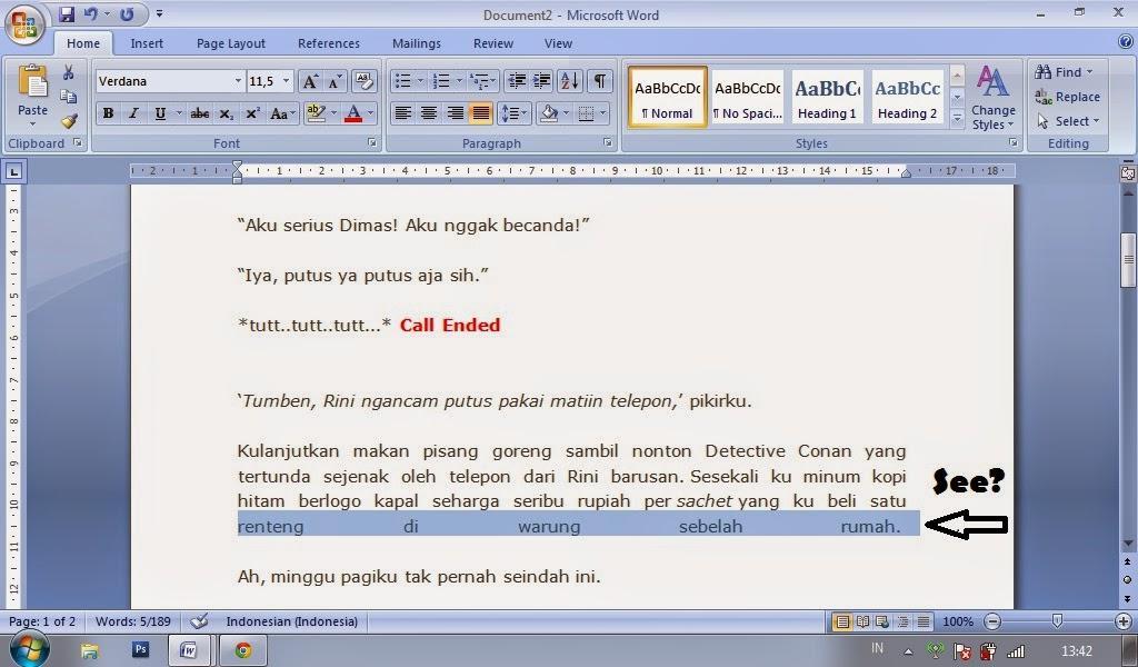 copy-paste, copas, cara edit micorsoft word