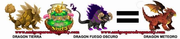 como obtener el dragon meteoro en dragon city formula 1