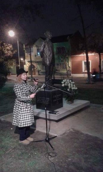 Lectura Homenaje a Jose Marti en Plaza Portales