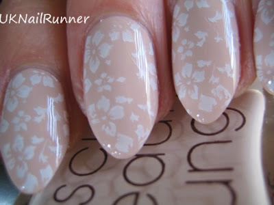 Rescue Beauty Lounge Opaque Nude stamped with BM plate 221