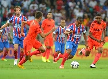 Bahia vence Sport na Arena Fonte Nova