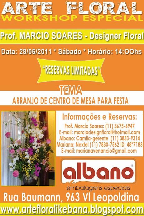 WORKSHOP DE ARTE FLORAL IKEBANA DIA 28/05/2011 RESERVAS LIMITADAS