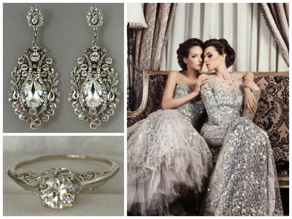 brancoprata decoracao:Noiva com Classe: Decoração em Branco e Prata ou Branco e Prateado