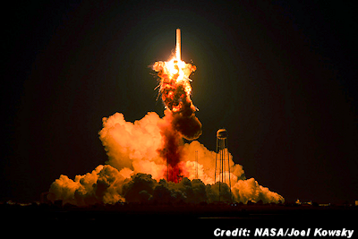 Antares Rocket Explodes Seconds After Launch