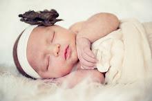 Violet Frances - 1 month