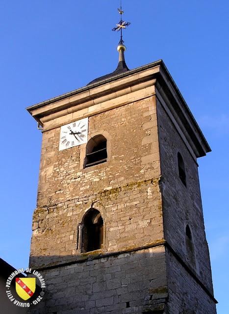CHOLOY-MENILLOT (54) Eglise Saint-Jean-Baptiste de Choloy (XIIe-XVIIIe siècles)