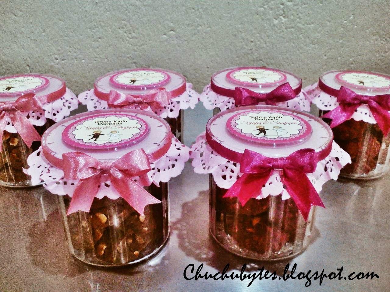 Chuchubytes: Chocolate Chip Cookies for wedding doorgift!