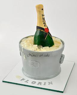 "Tort ""champagne Moet"""