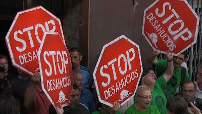 manifestación Stop desahucios