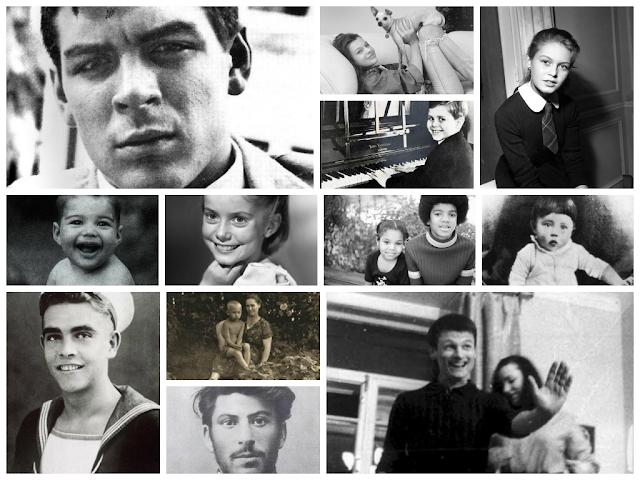 Звезды в молодости