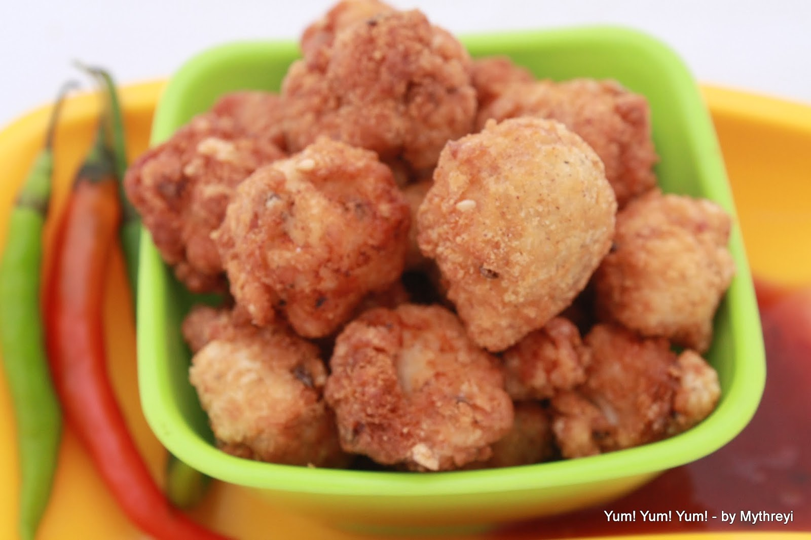 Popcorn Chicken KFC Style Step