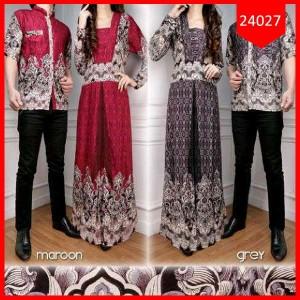 Busana: Dress Batik Couple Linggar Ayu (BHM-081)