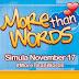 More Than Words November 27 2014