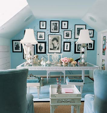 How To Change An Area Or A Room In To A Office And Still Make It Fit Into  The Shabby Chic Style That You Like. Here Are Some Ideas How To Create ...