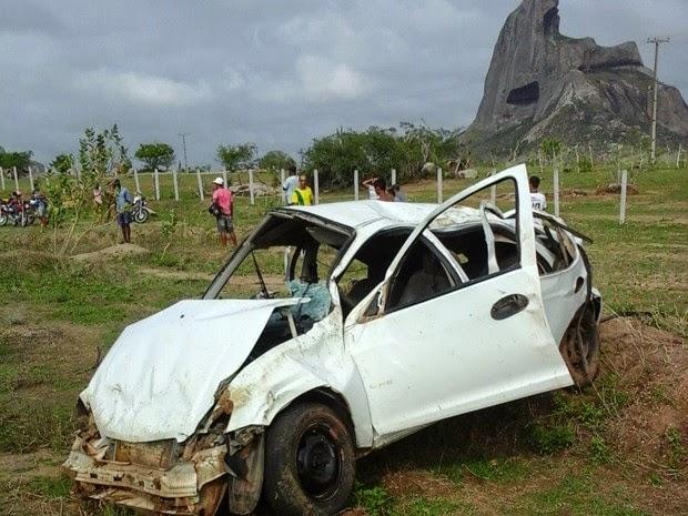 eridos foram levados para hospital na Bahia (Foto: Divulgação/Polícia Militar)