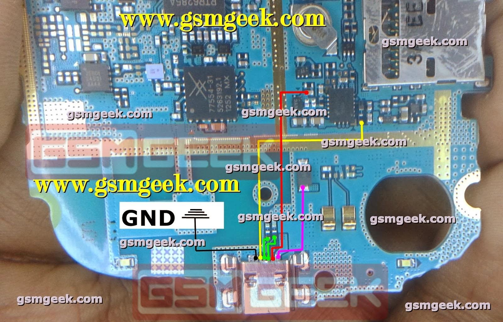 Samsung S7562 Charging Ways Repair Solution Updated