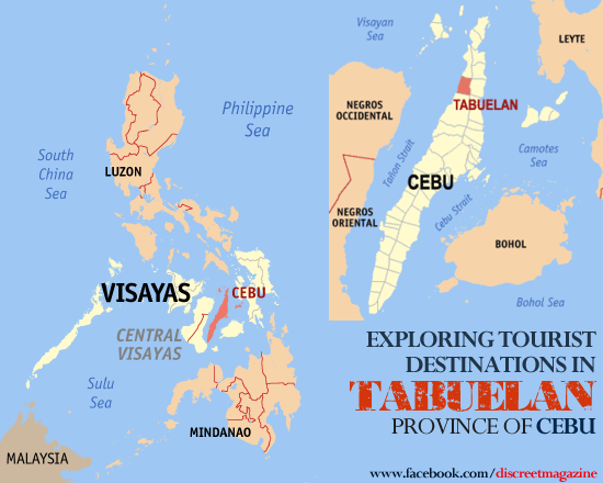 Tabuelan Philippines  city photos : EXPLORING TOURIST DESTINATIONS IN TABUELAN, CEBU Discreet Magazine