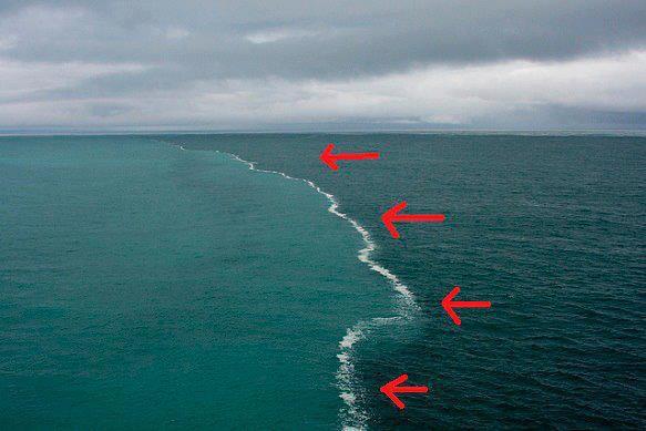 Dua laut yang dipertemukan, Keajaiban Allah, Allah maha besar