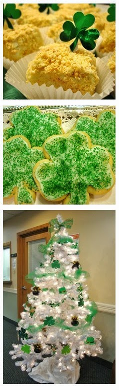 Serve Blarney Cakes  at your next Tea Party  Read My St Patrick's Day Posts with Recipes
