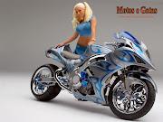 motos montero papel parede motos gatas