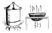 Cara perebusan rambak tepung