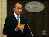 Traian Băsescu litera şi spiritul Constituţiei funny image