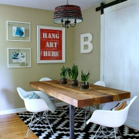 Budget Dining Room Makeover